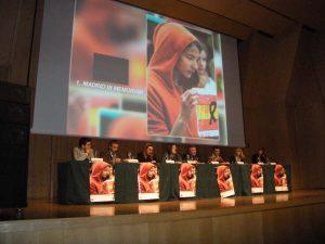 Presentación en Barcelona del libro Madrid In Memoriam, una iniciativa para el recuerdo