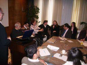 Encuentro con periodistas extranjeros