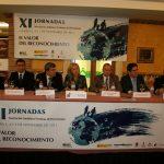 Mesa inaugural de las XI Jornadas