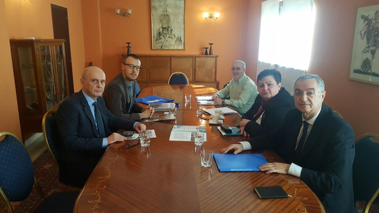 Reunión Embajada Rumanía - JD