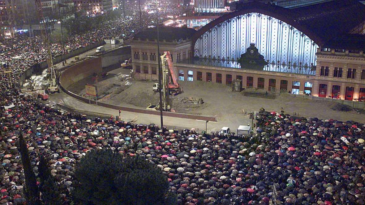 Manifestación 11M Atocha