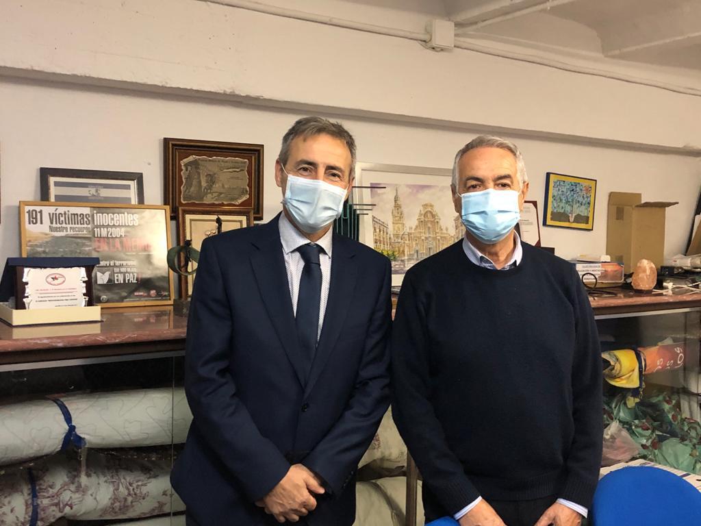 Visita del Presidente de la Fundación Víctimas del Terrorismo
