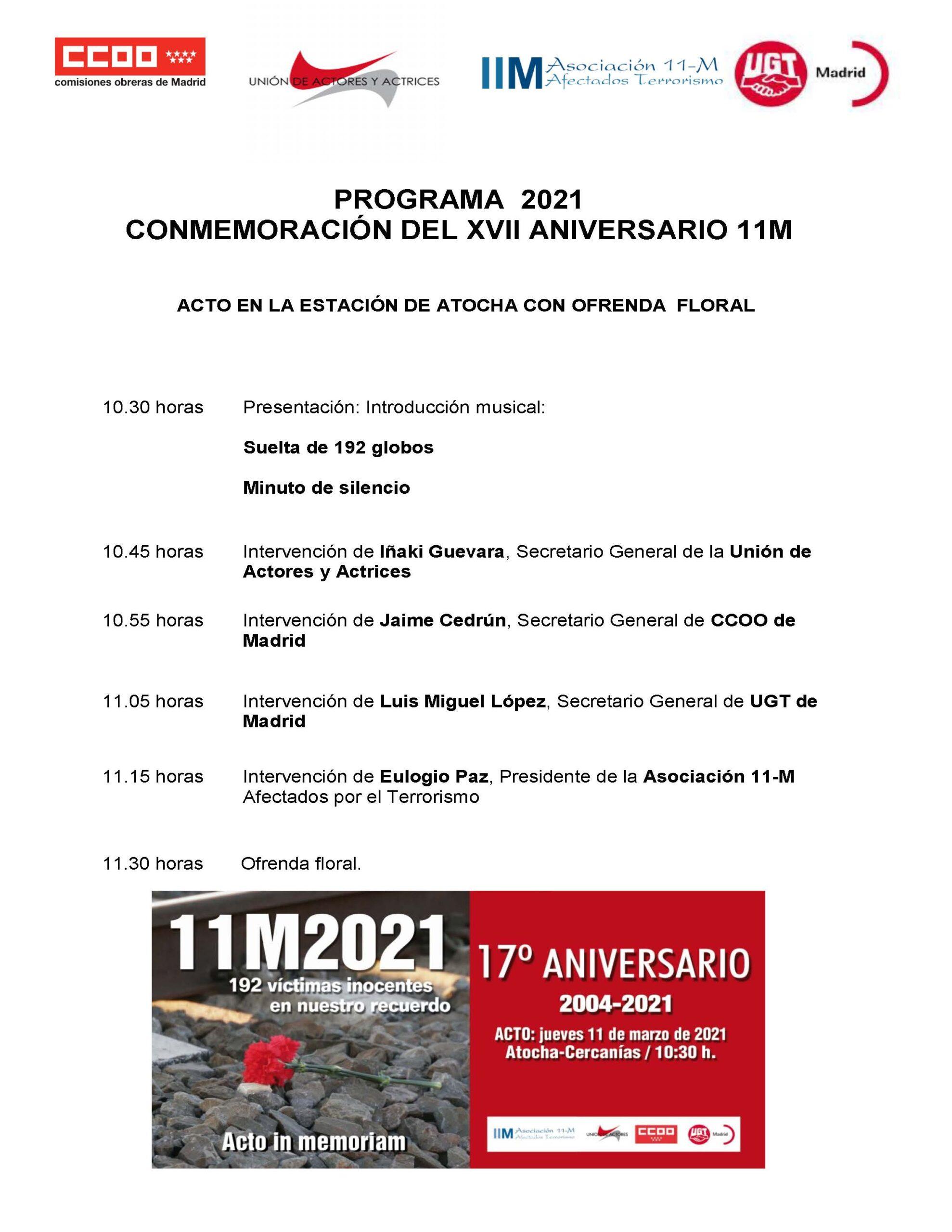 11M La Memoria Imborrable, Atocha