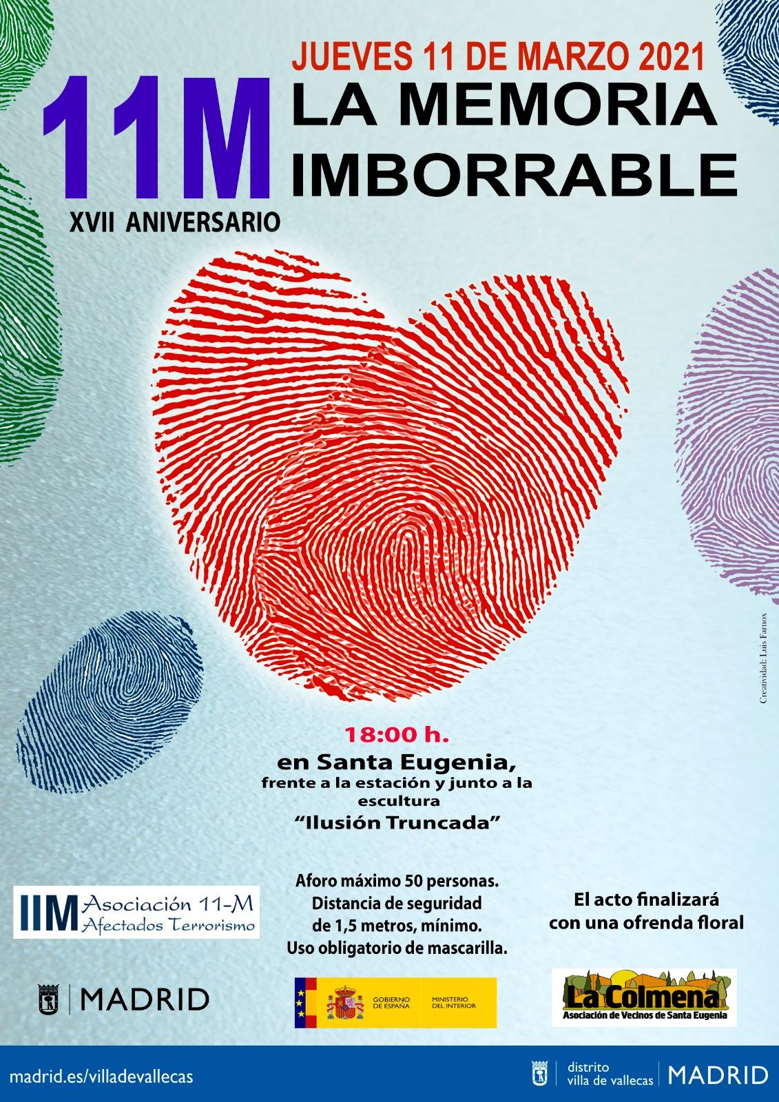11M La Memoria Imborrable, Santa Eugenia