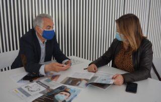 Reunión con la concejalía de Cultura del Ayto. de Alicante