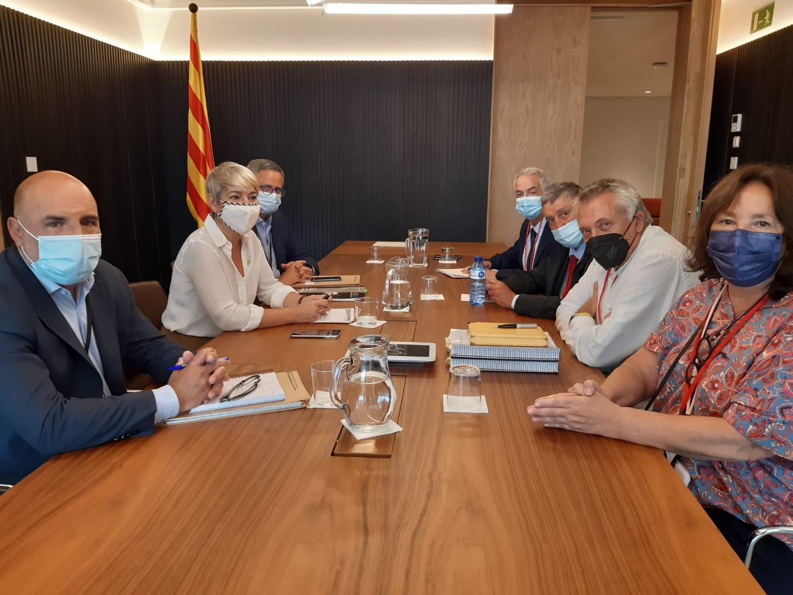 Reunión con la Consellería de Justicia de la Generalitat de Cataluña